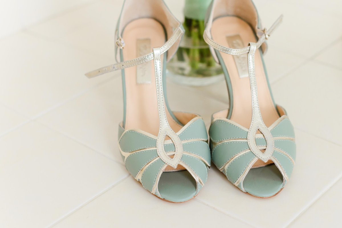 bhldn wedding shoes, something blue