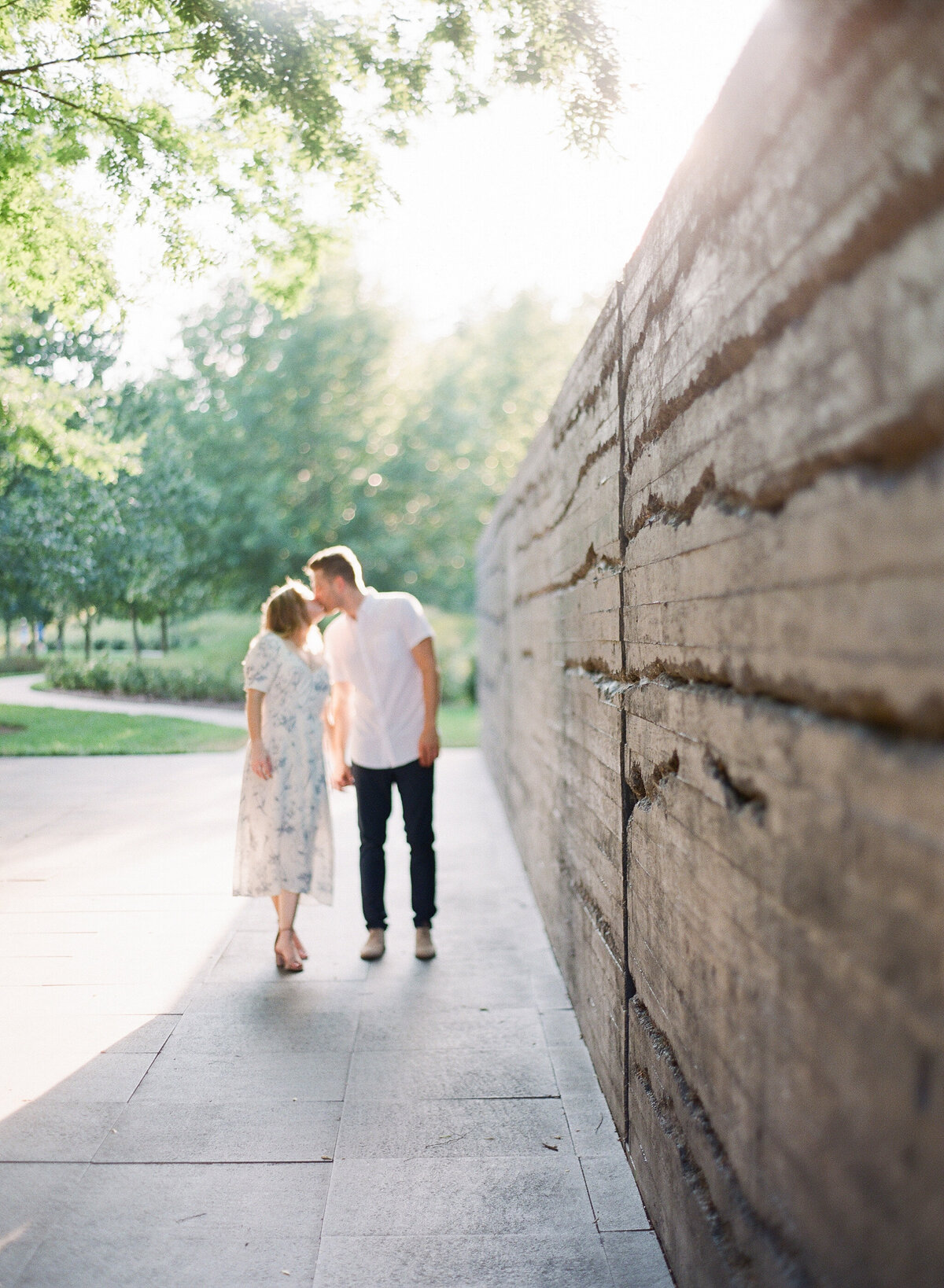 Engagement Photography at the NC Museum of Art in Raleigh, NC 6