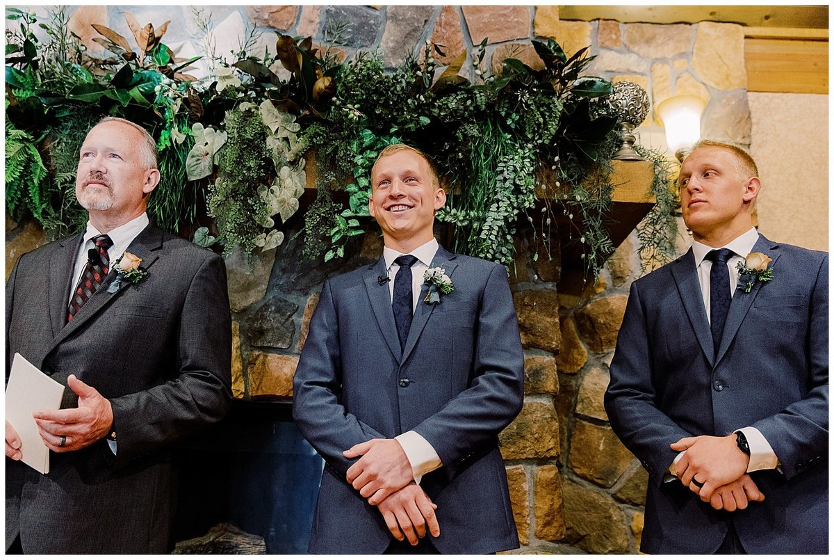 Brookside Gardens Wedding Colorado ceremony