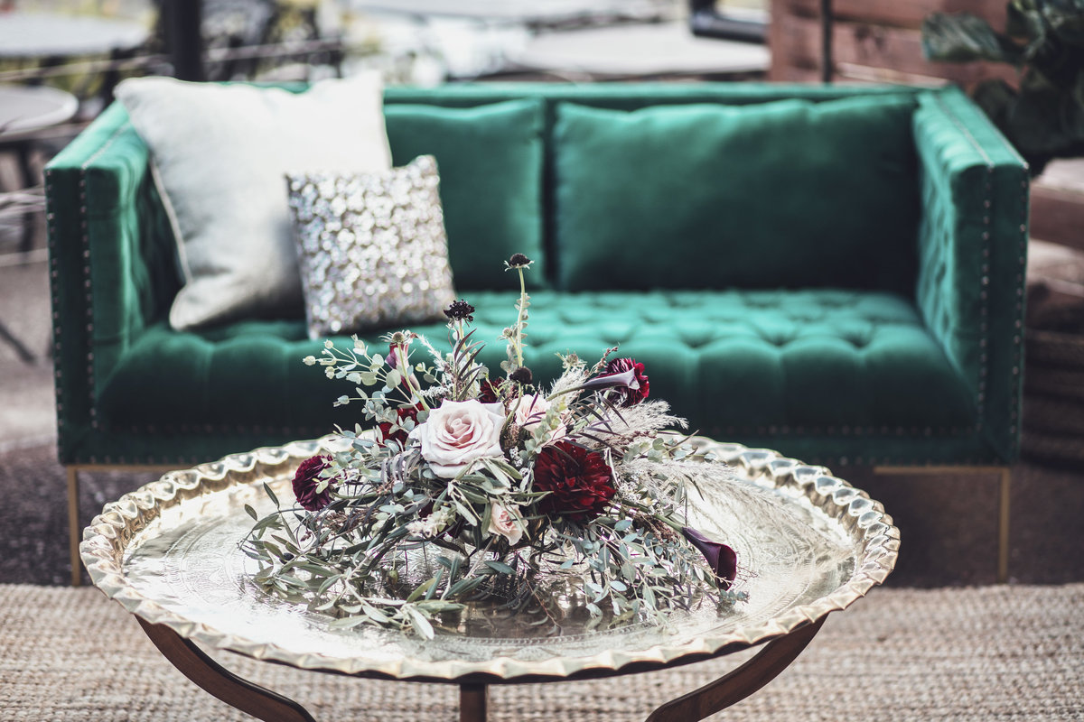 Boho Lounge Seating - Fall Wedding - Rochester NY - Verve EVent Co (3)