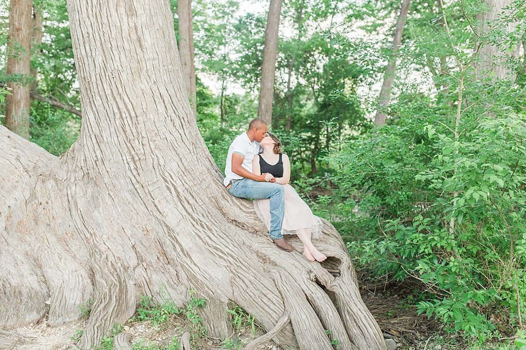 A summer engagement session at Cibolo Nature Center in Boerne, Texas_0037