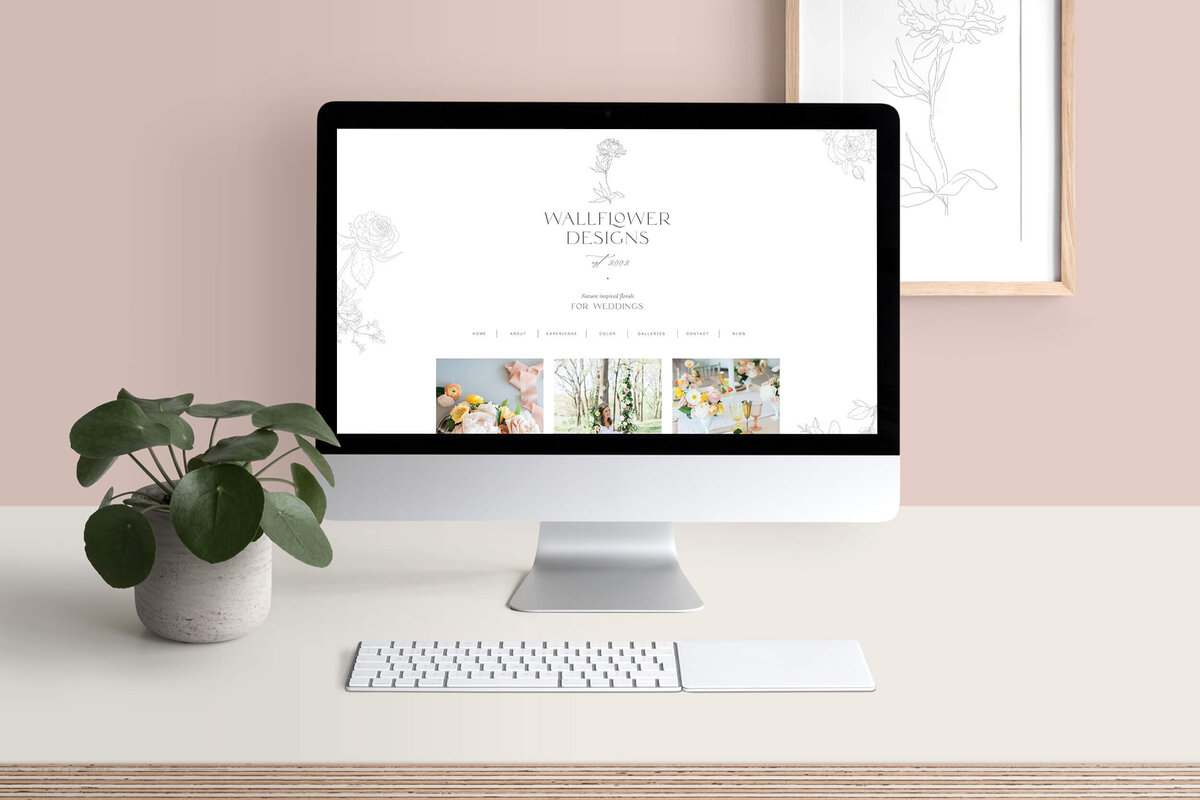 Wallflower-Designs-Showit-Website