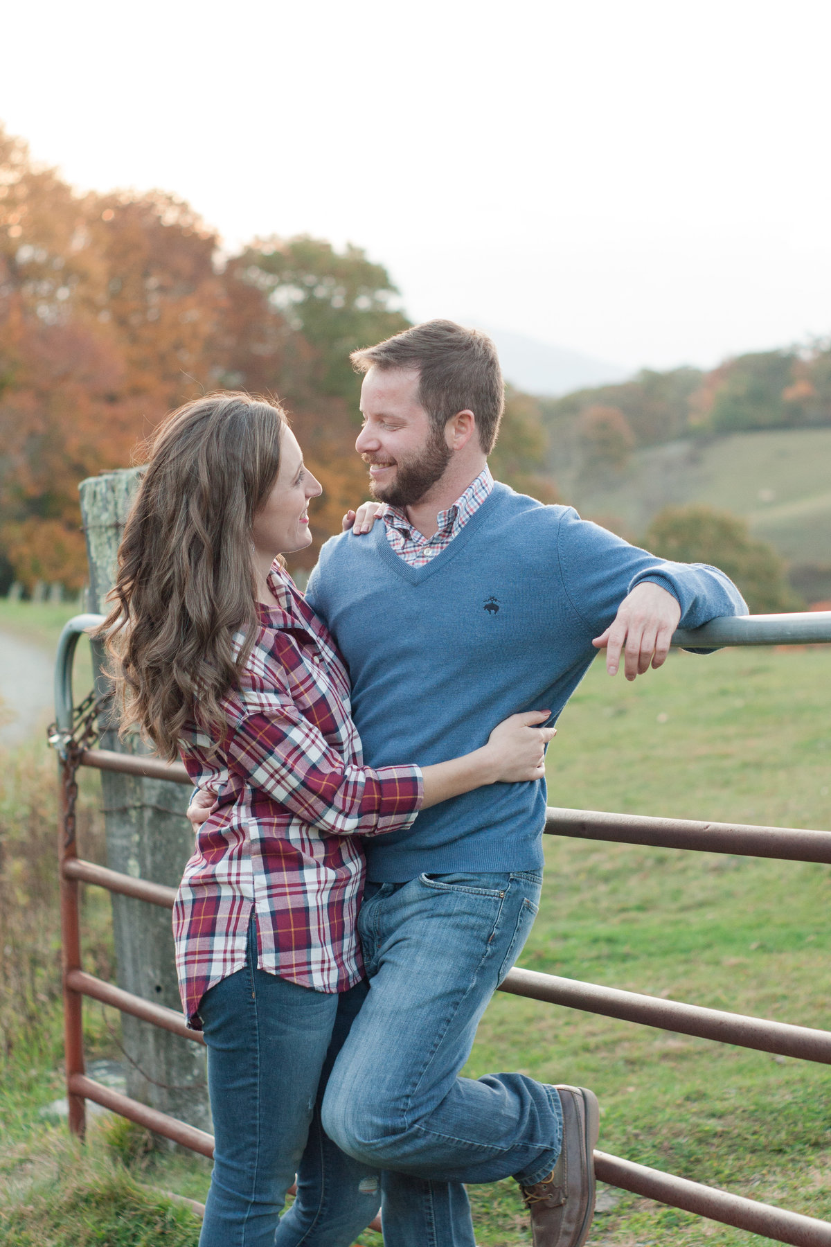 Moses Cone Manor Engagement Adventure on the Blue Ridge Parkway photographed by Boone Photographer Wayfaring Wanderer.