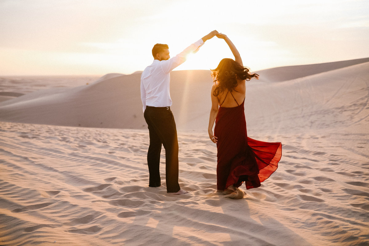 Imperial sanddunes engagement Bre and kirk  (70 of 71)