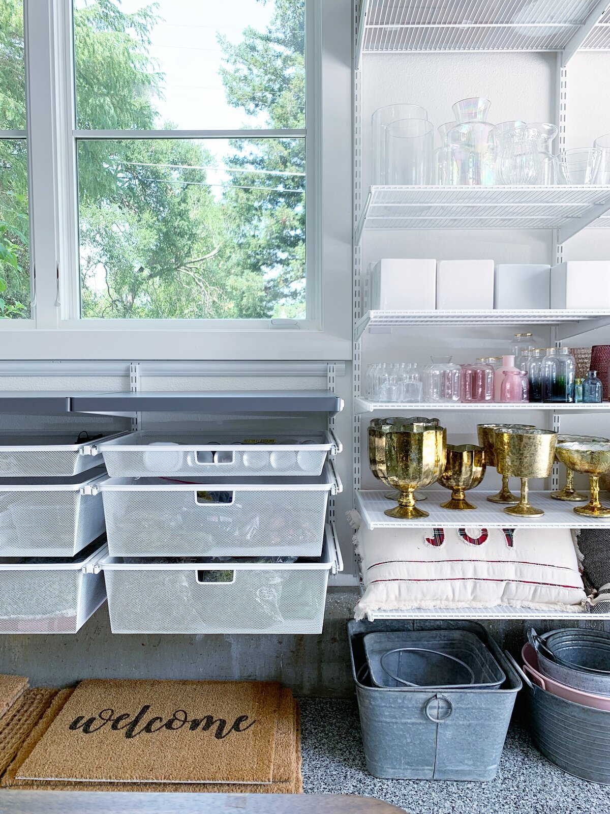 workspace drawers for florist
