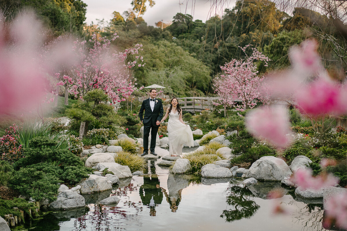 San Diego Wedding Photographer Japanese friendship garden