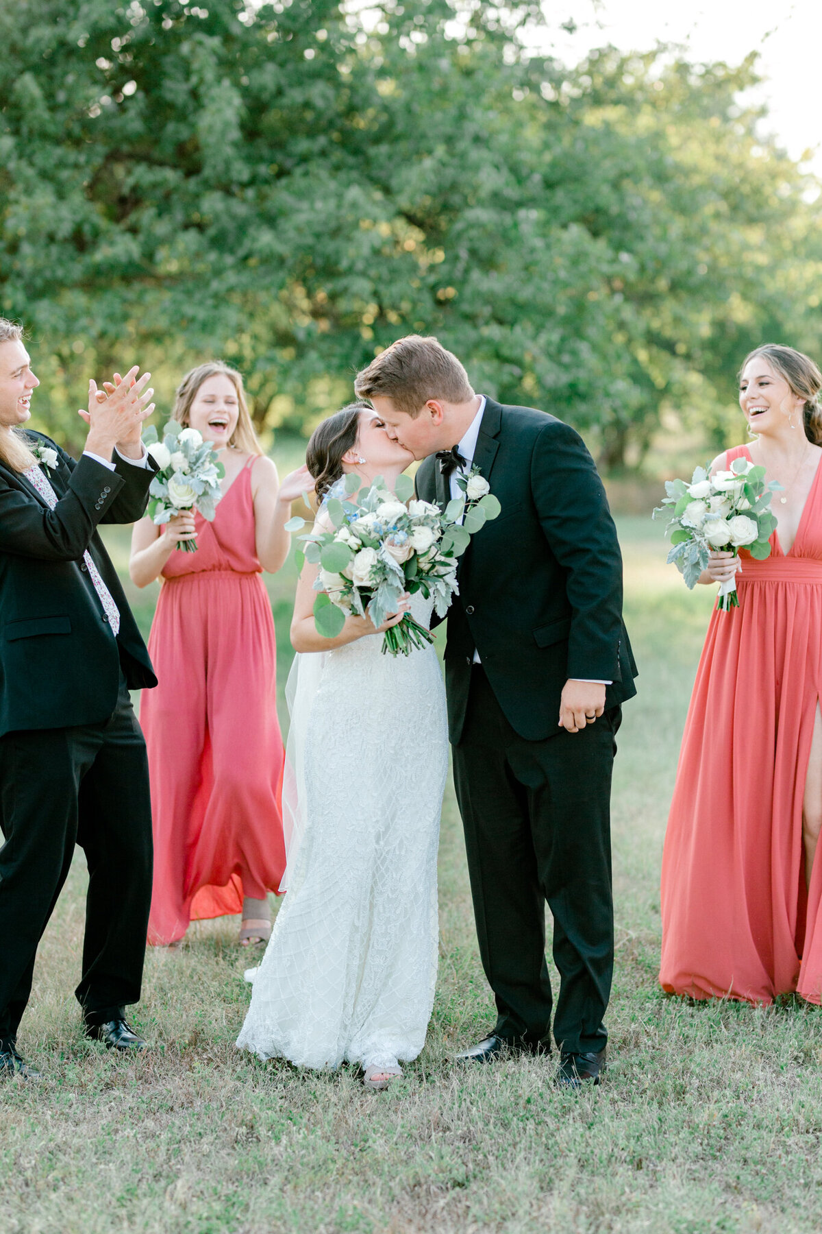 Anna & Billy's Wedding at The Nest at Ruth Farms | Dallas Wedding Photographer | Sami Kathryn Photography-161