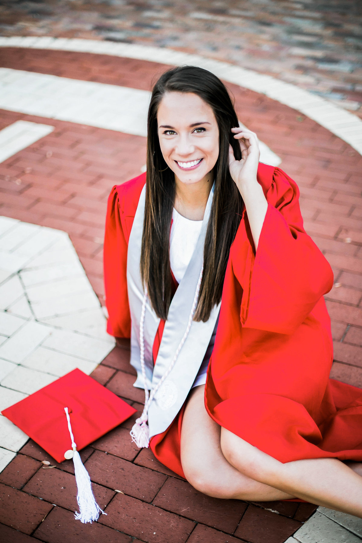 Raleigh Senior Graduation Portrait Photography