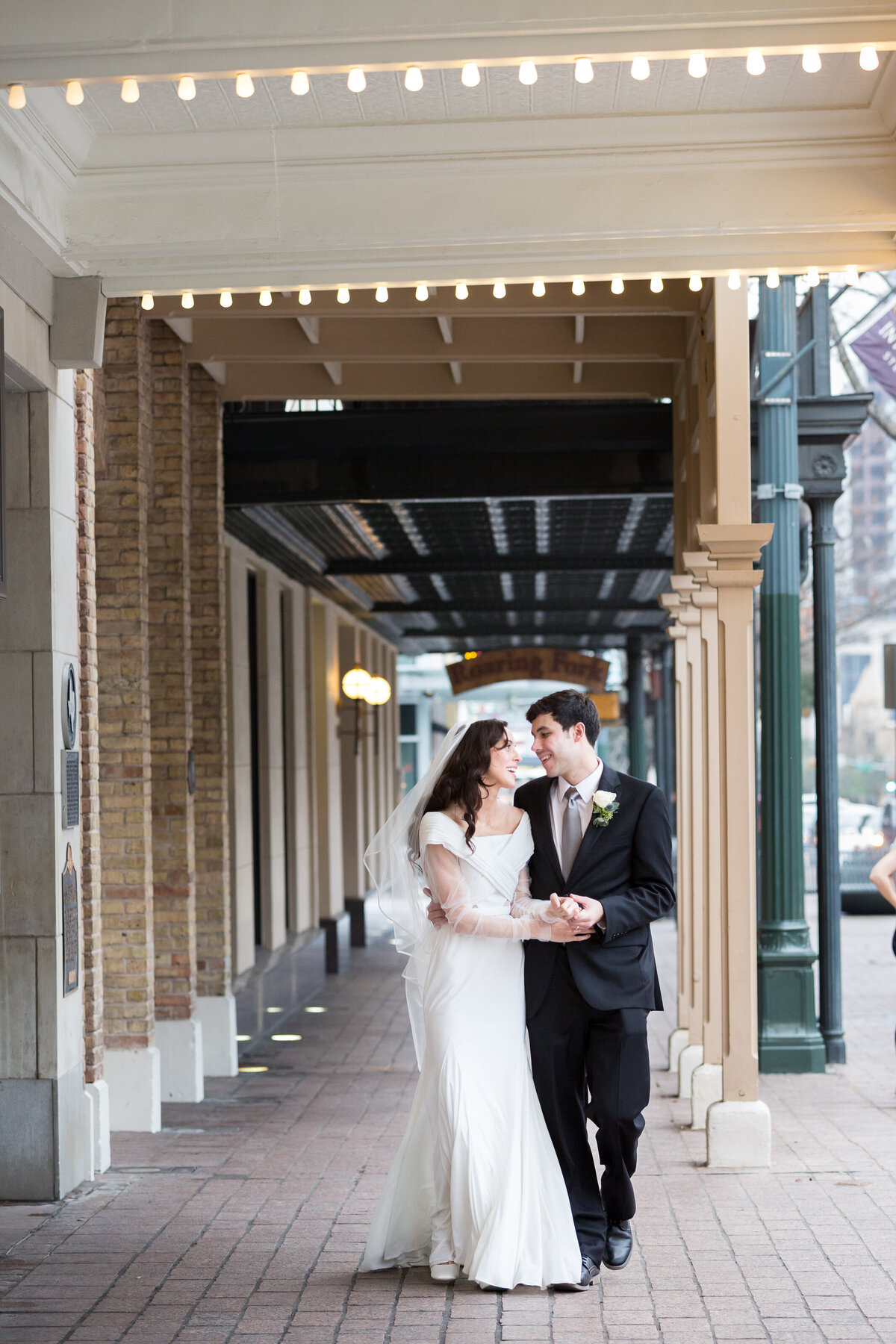 paramount theater wedding photos