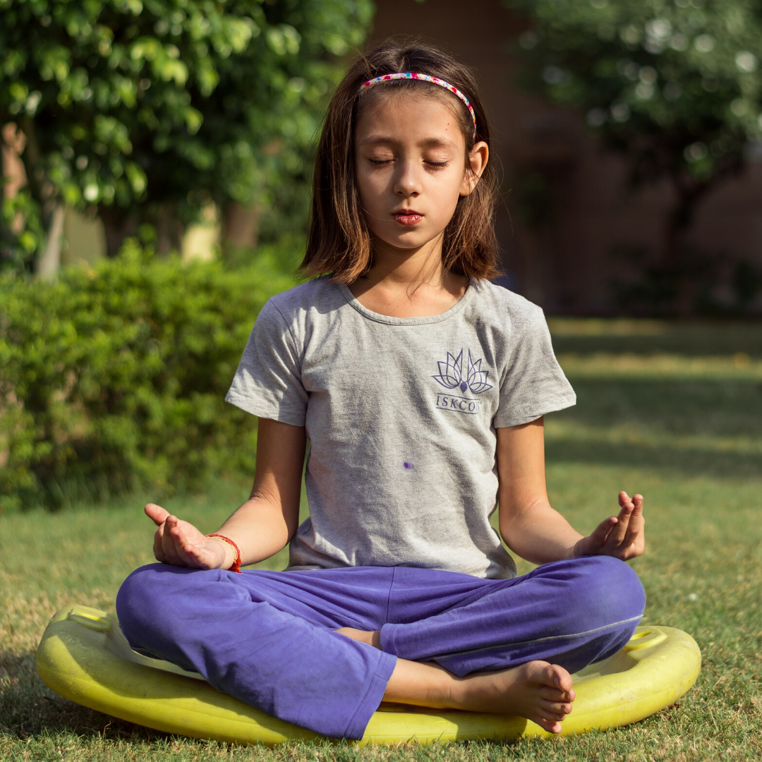 private kids yoga or meditation