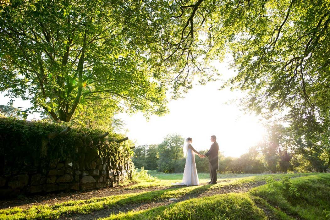 Dartmoor Wedding Devon, couple in sunshine