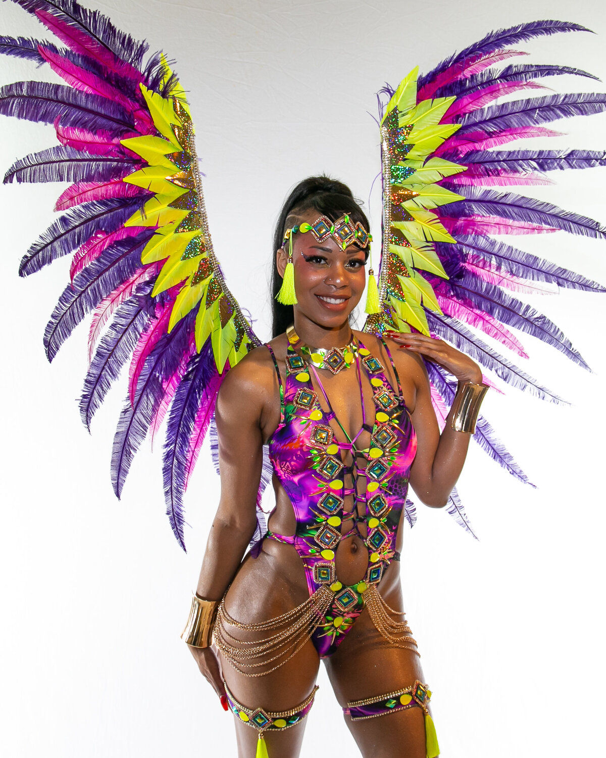 Toronto caribana costumes for big women