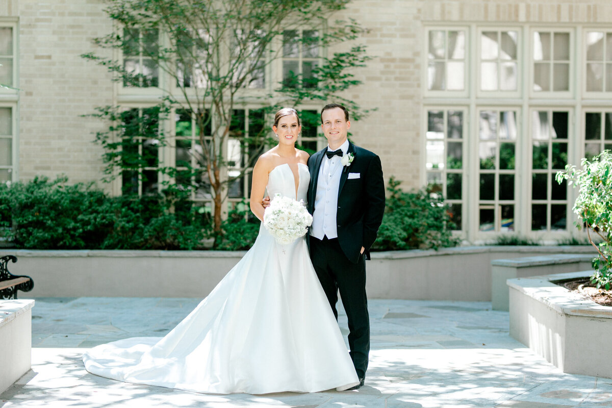 Wedding at the Crescent Court Hotel and Highland Park United Methodist Church in Dallas | Sami Kathryn Photography | DFW Wedding Photographer-97