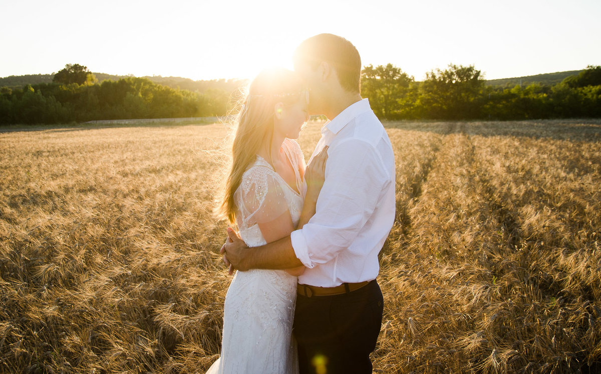 Engagement Session - Provence - Sunset
