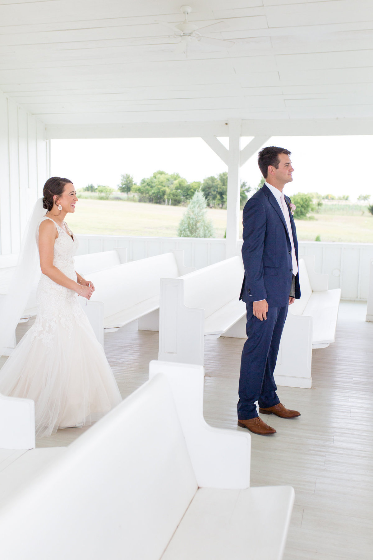 Grand Ivory Wedding | First Look | Dallas, Texas | DFW Wedding Photographer | Sami Kathryn Photography-1