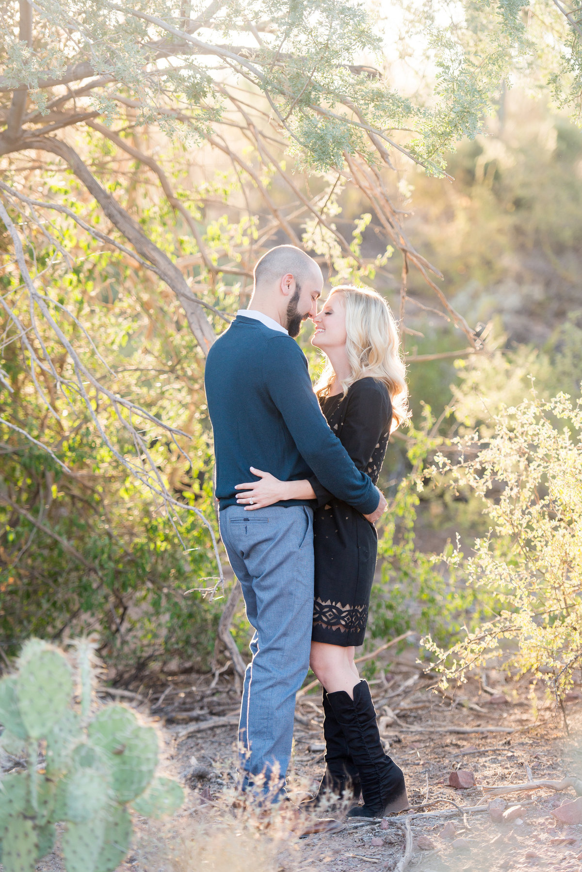Superstition Mountain Engagement Photos