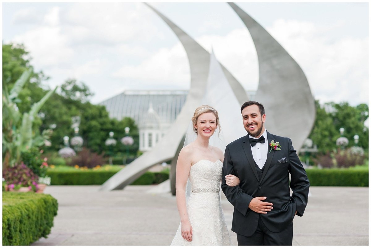 Franklin Park Conservatory Wedding The Palm House Bridal Garden Grove_0007