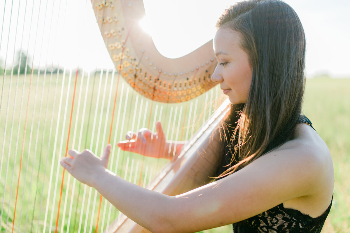 Virginia_Senior_Session_Musician_Harp_Photography_Angelika_Johns_Photography-9206