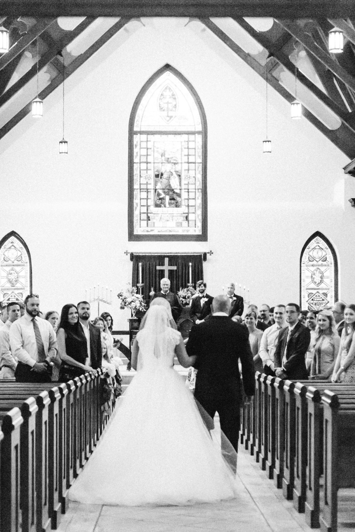 St. Luke's Chapel Charleston South Carolina Wedding Venue Ceremony