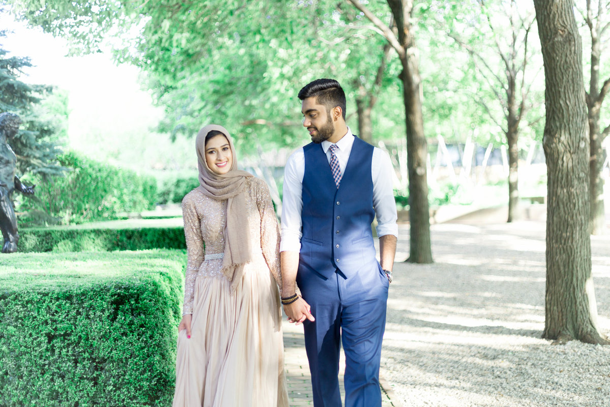 Humna & Fahad Chicago Botanic Engagement -3