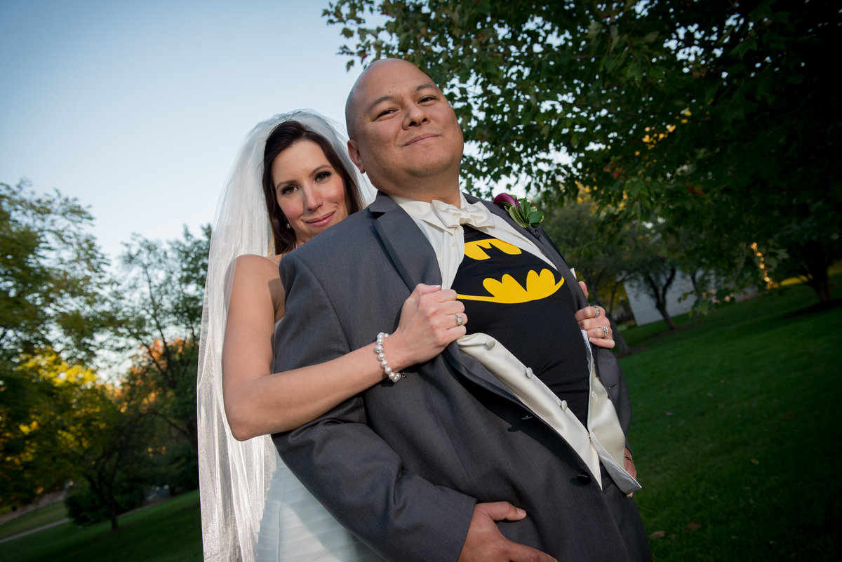 Batman super hero groom