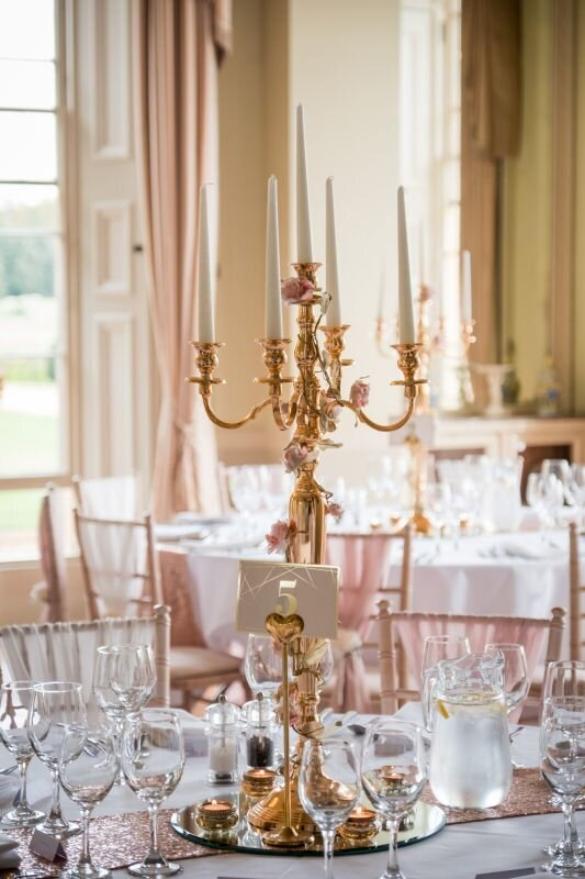 Pink and ivory wedding Prestwold (14)
