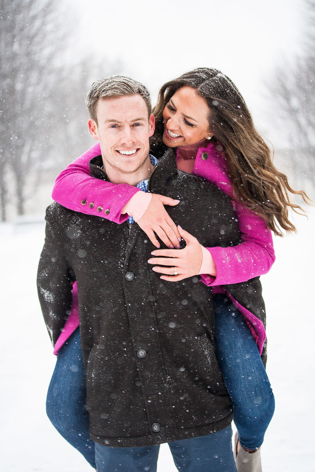 Millennium Park Chicago Illinois Winter Engagement Photographer Taylor Ingles 41
