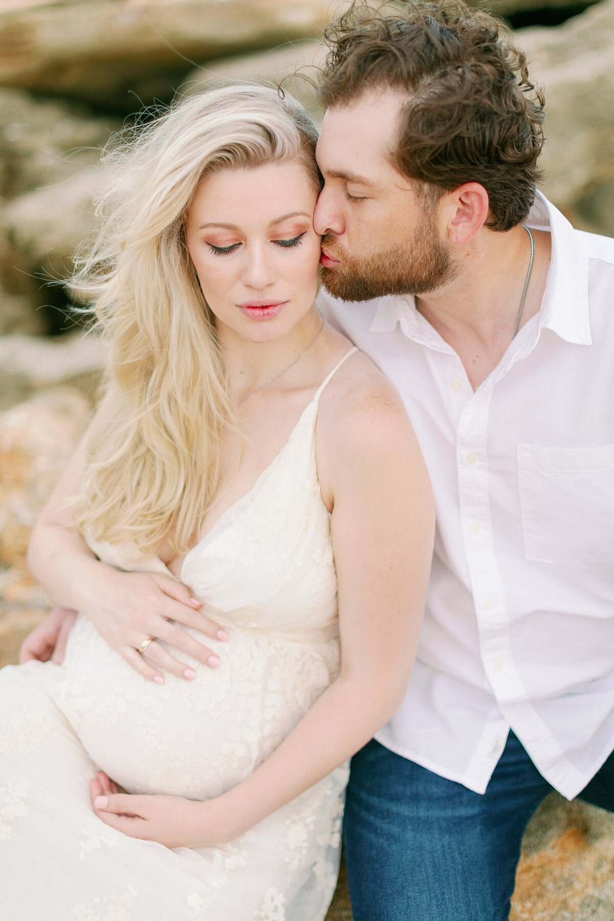 Ashley + Adrian Pamparau Washington Oaks State Park Maternity Session Photographer Casie Marie Photography-118