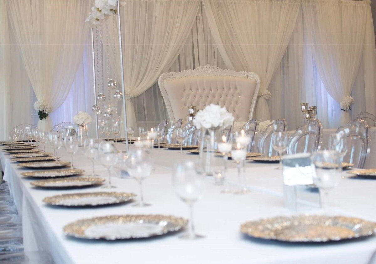 Luxury event and draping services in Washington D.C & Maryland