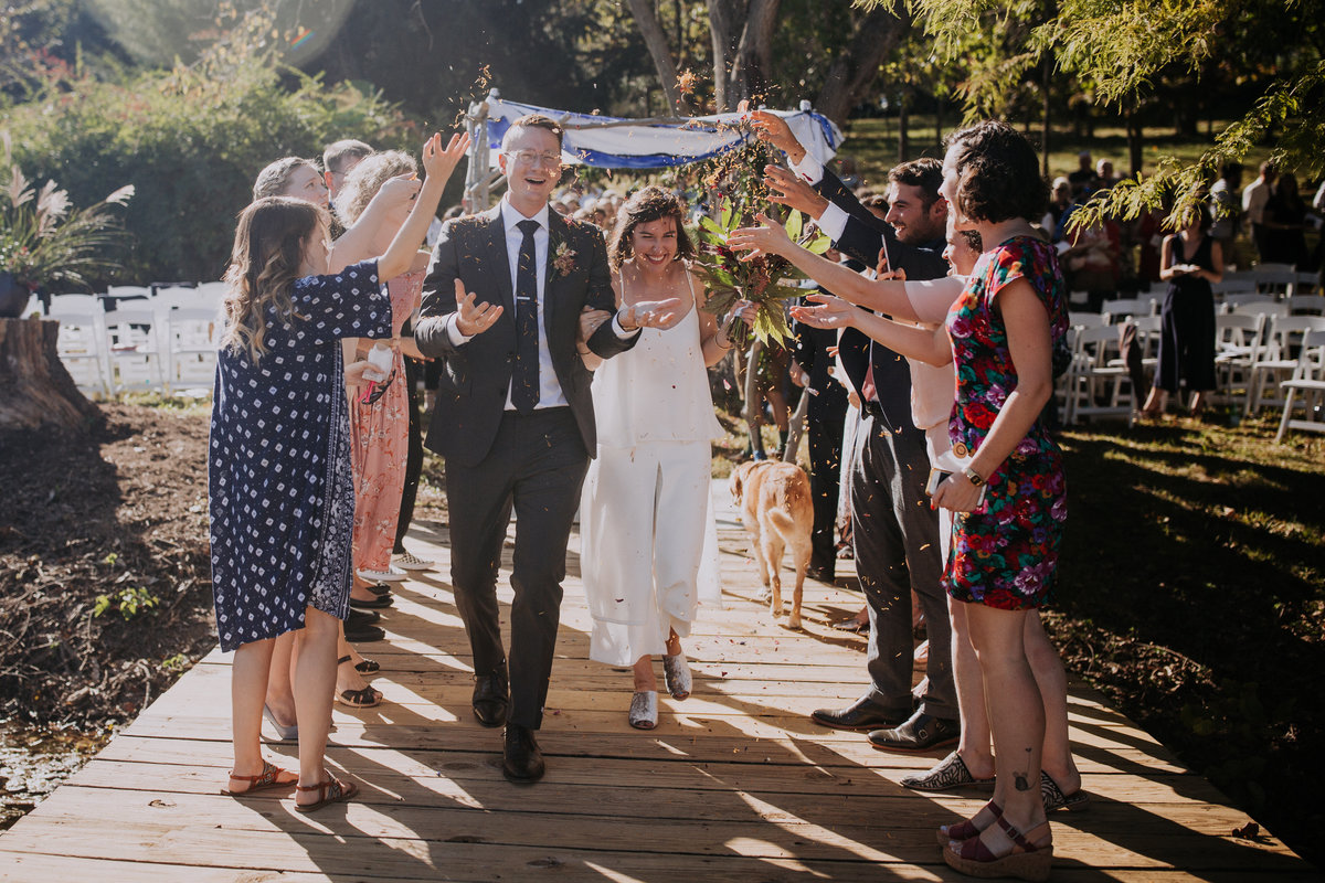 jewish wedding ceremony with wedding planner for love of love