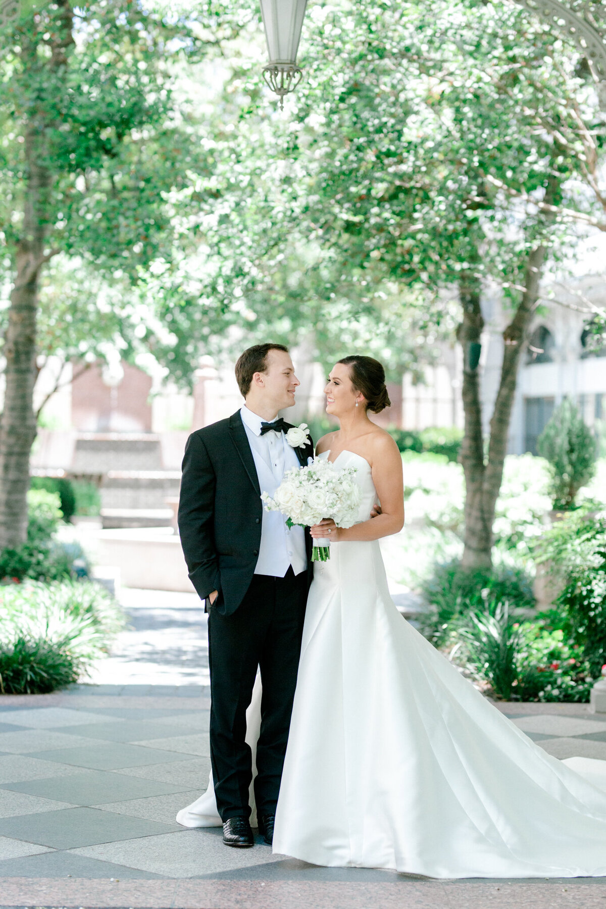 Wedding at the Crescent Court Hotel and Highland Park United Methodist Church in Dallas | Sami Kathryn Photography | DFW Wedding Photographer-13