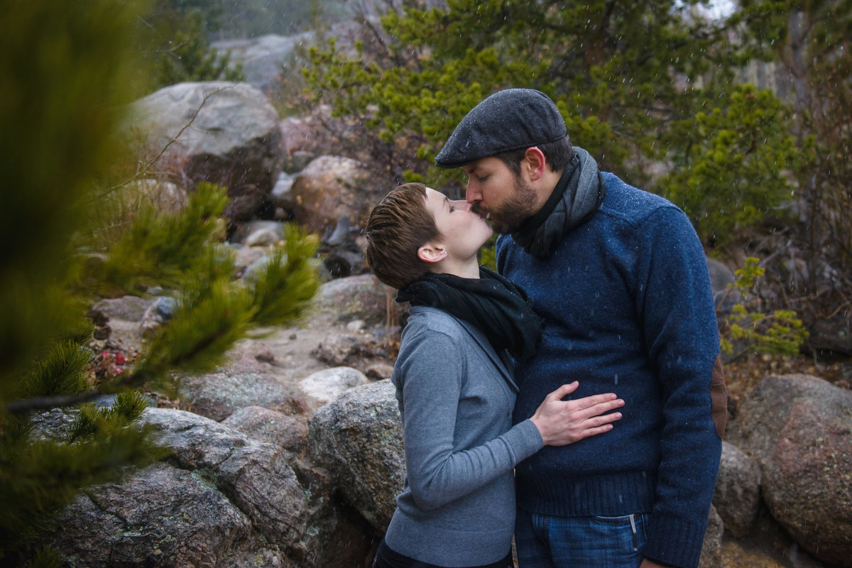 Engagement Photos at The Alluvial Fan, Estes Park