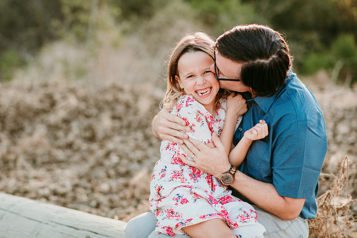 Carlsbad Family Photographer-Daddy Daughter giggles77