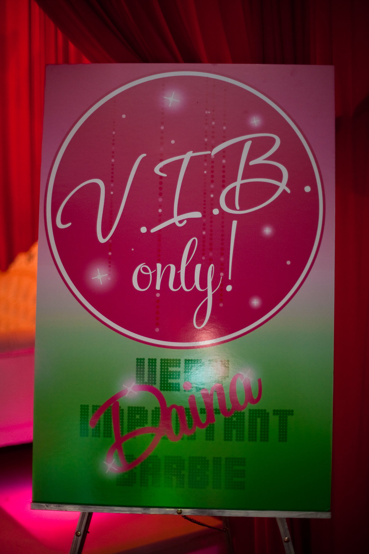 Barbie themed pink green birthday party New Jersey Event Planner NJ Event Designer