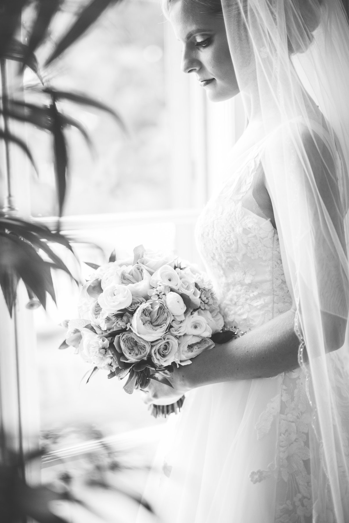 Bride in Washington D.C. at the Oxon Hill Manor