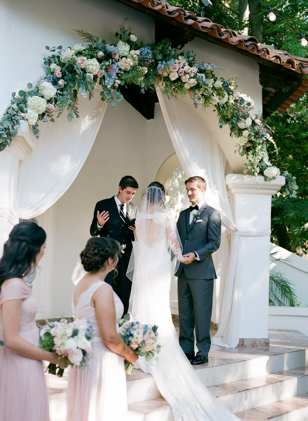Rancho Las Lomas Wedding Fine Art Film Photographer - Hello Blue Photo -367