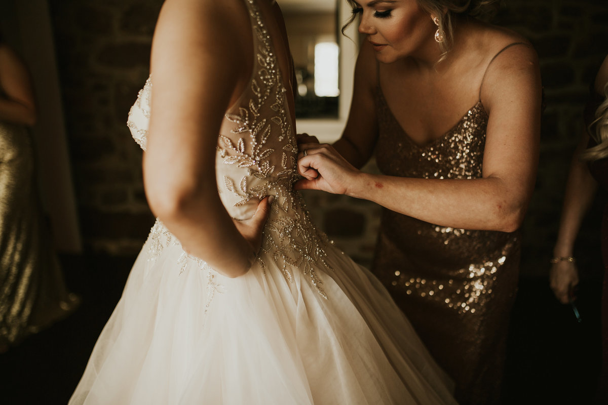 bride mainline wedding