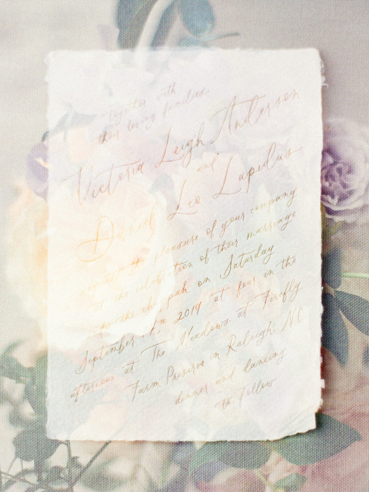 Beautiful love letter
