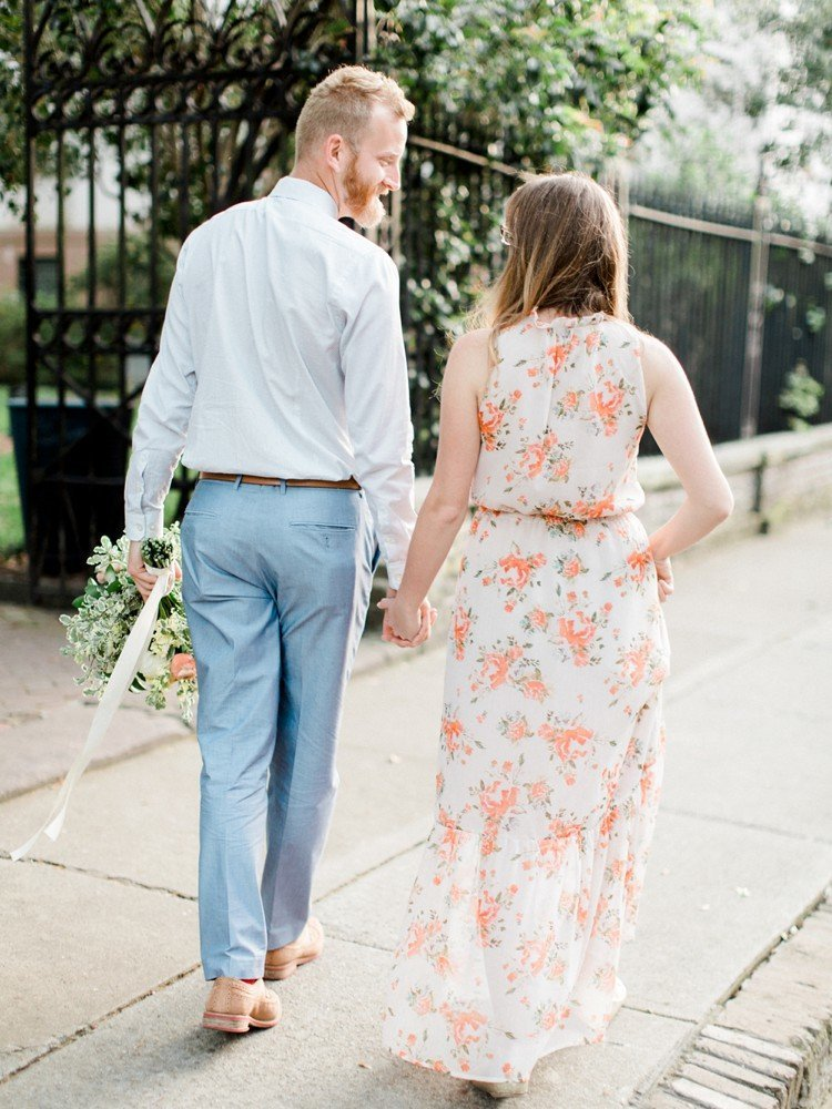 Rebekah Emily Photography Charleston Wedding Photographer Downtown Charleston Engagement Session_0017