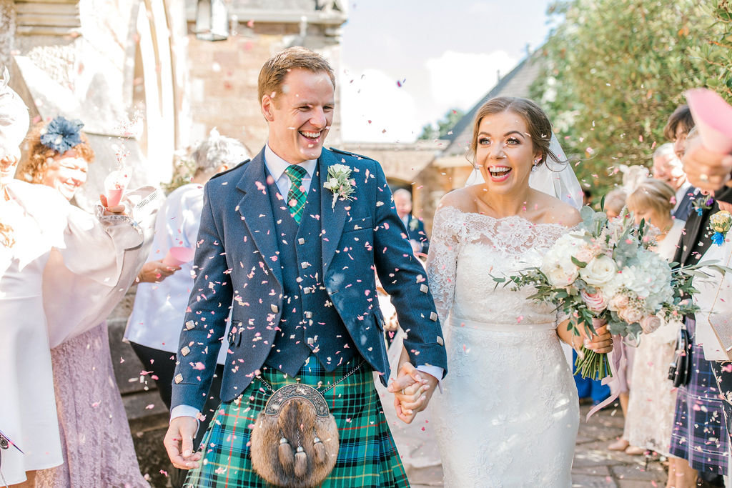 Scottish Wedding at Brig O'Doon House Hotel | Jenni Liandu Calligraphy