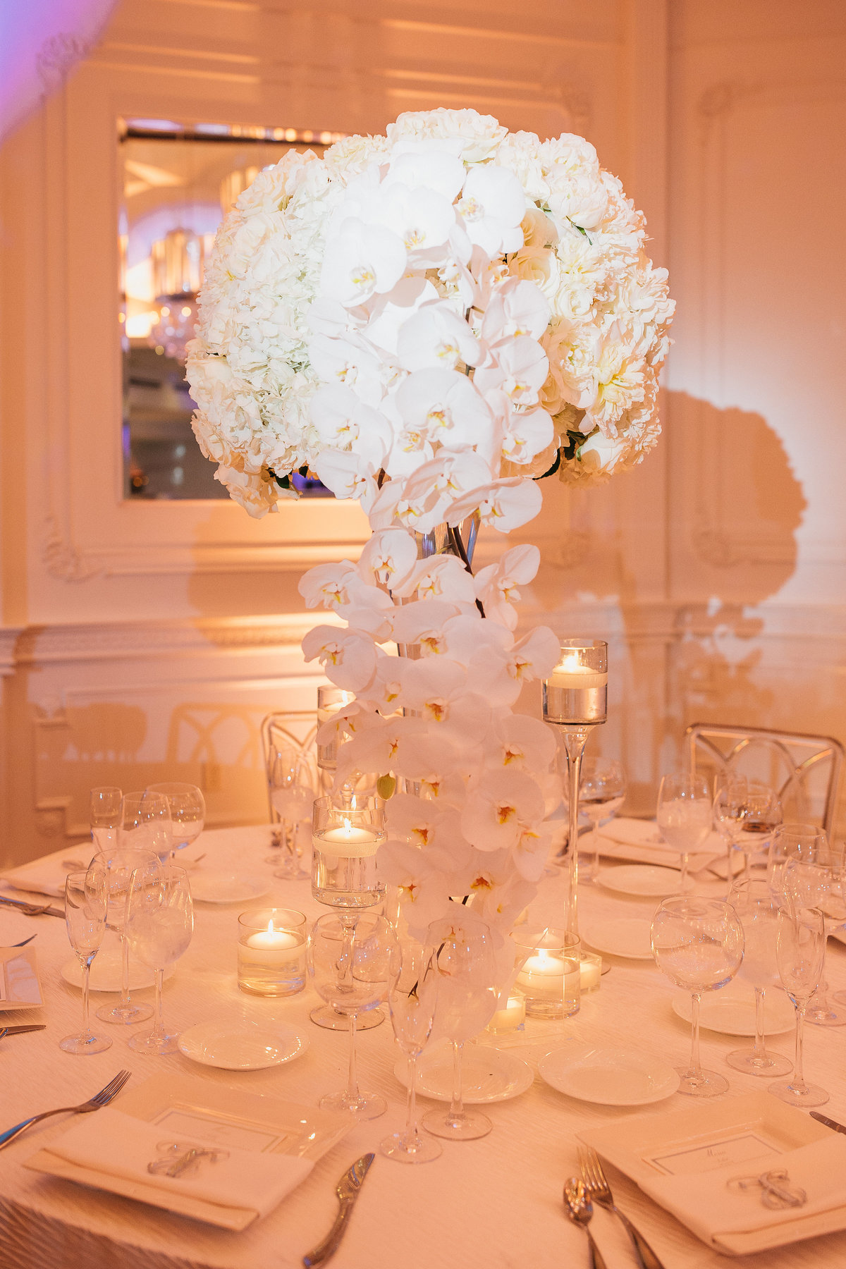 Westmount Country Club white modern New Jersey wedding 25