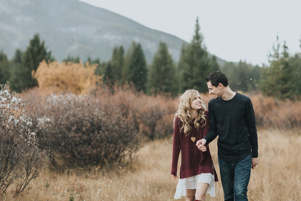 moose meadows bow valley parkway banff national park autumn engagement photography