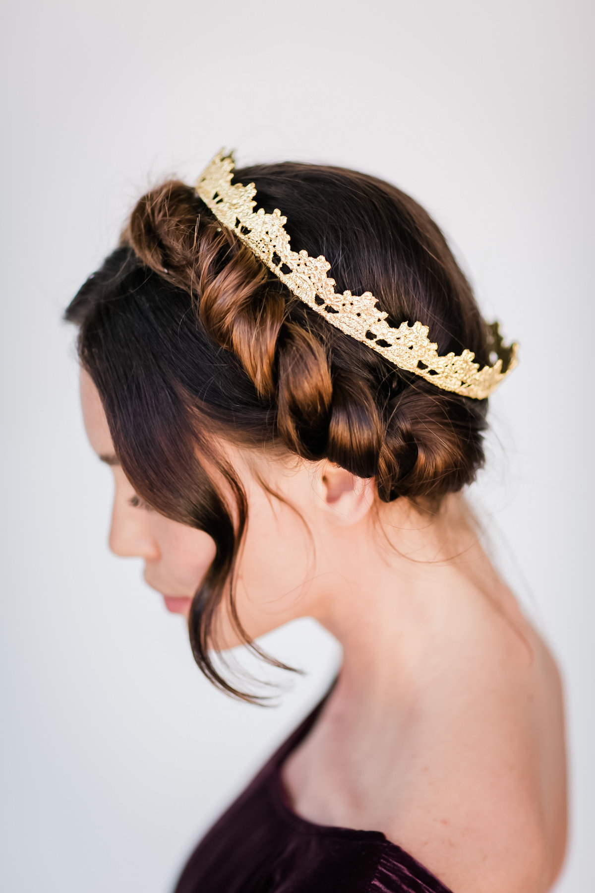 Bridal Crown Editorial Shoot Trace Henningsen Accessories_Valorie Darling Photography-8125