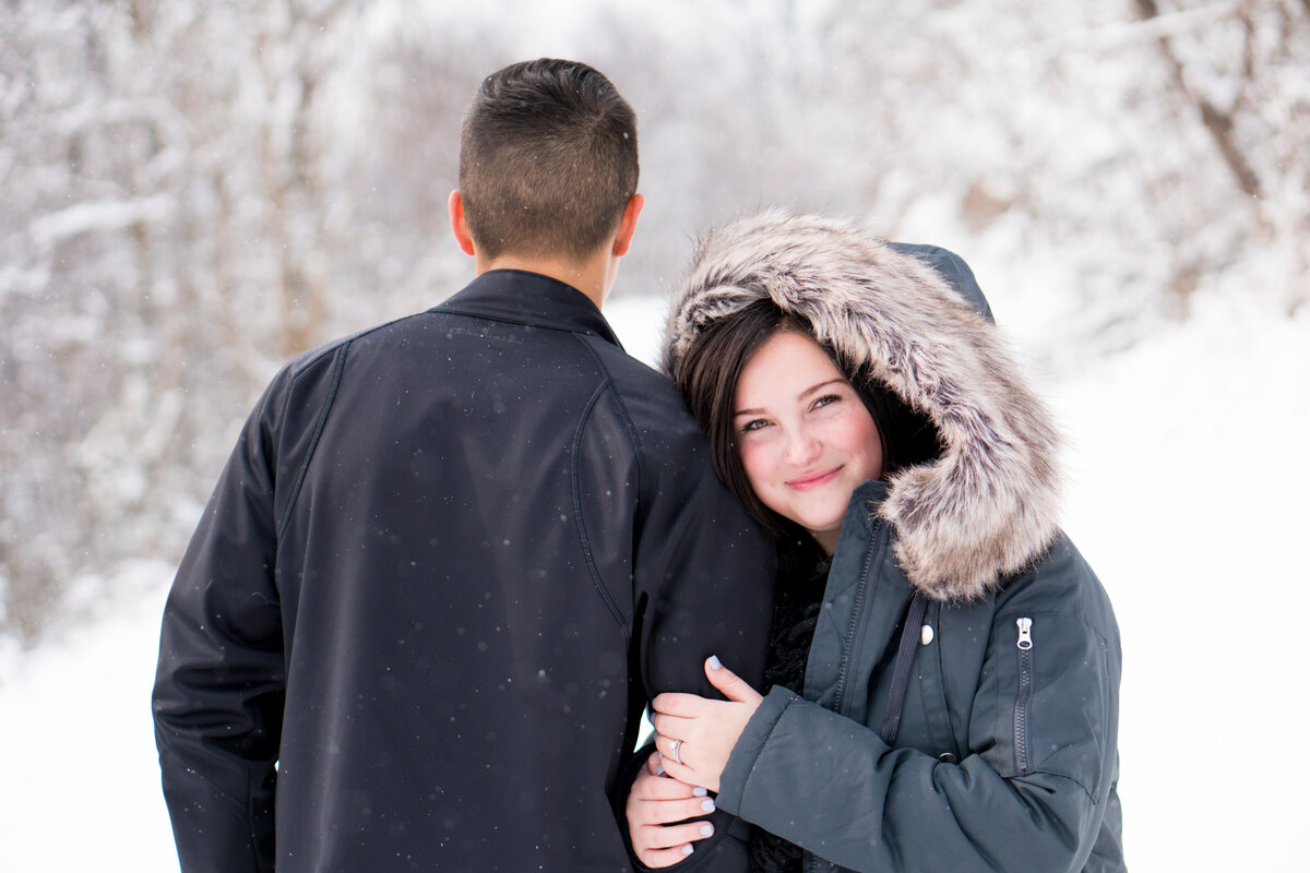 Snow Engagement Shoot