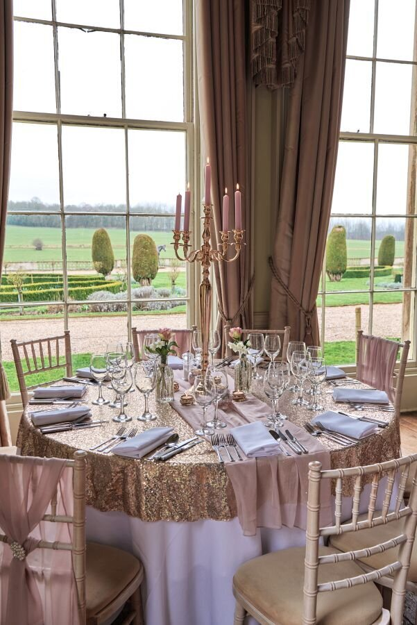 Dusky pink and gold wedding Prestwold Hall sm(1)