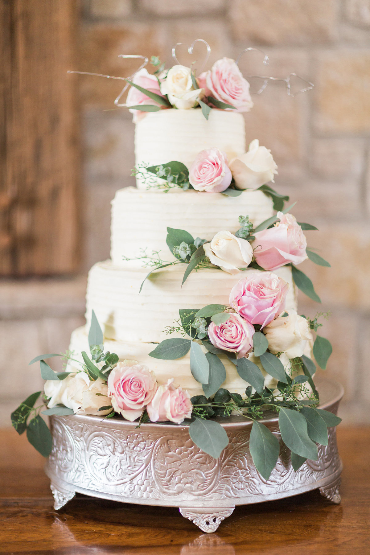 Kairos Celebration Barn Wedding Cake
