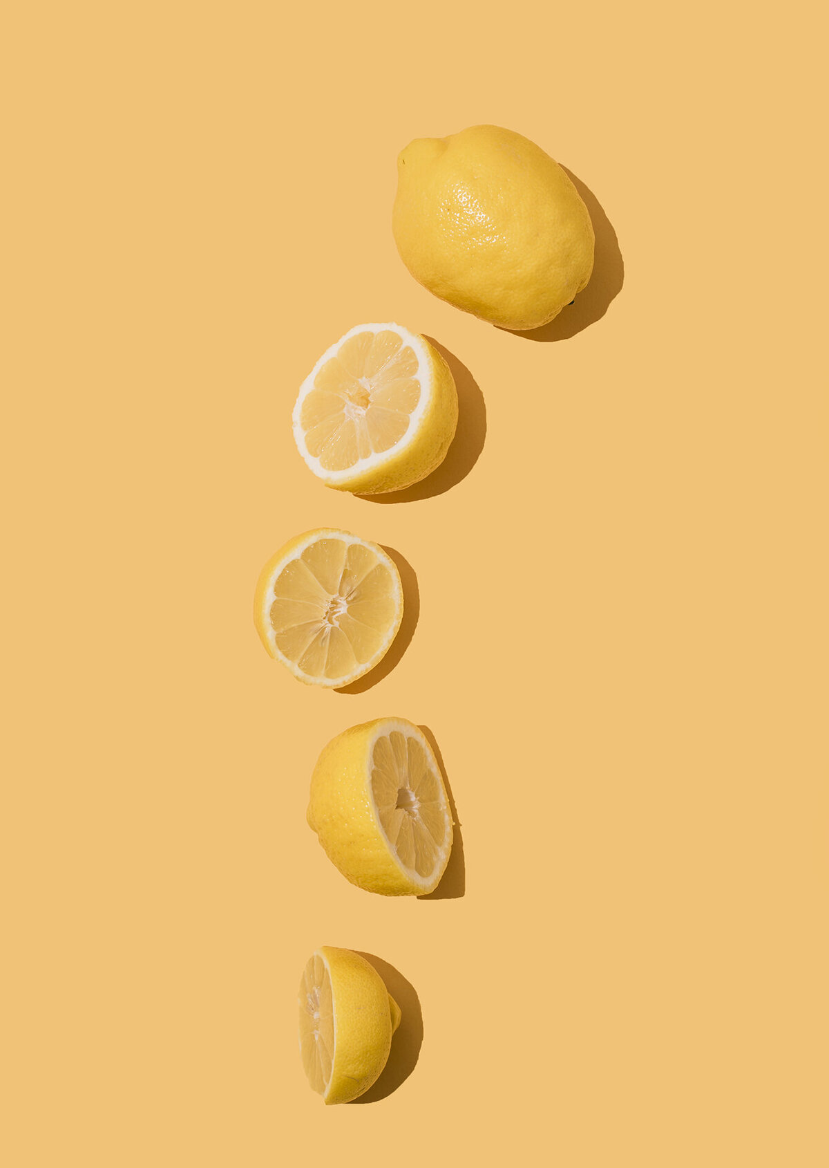 los angeles food photographer produce photography lemons