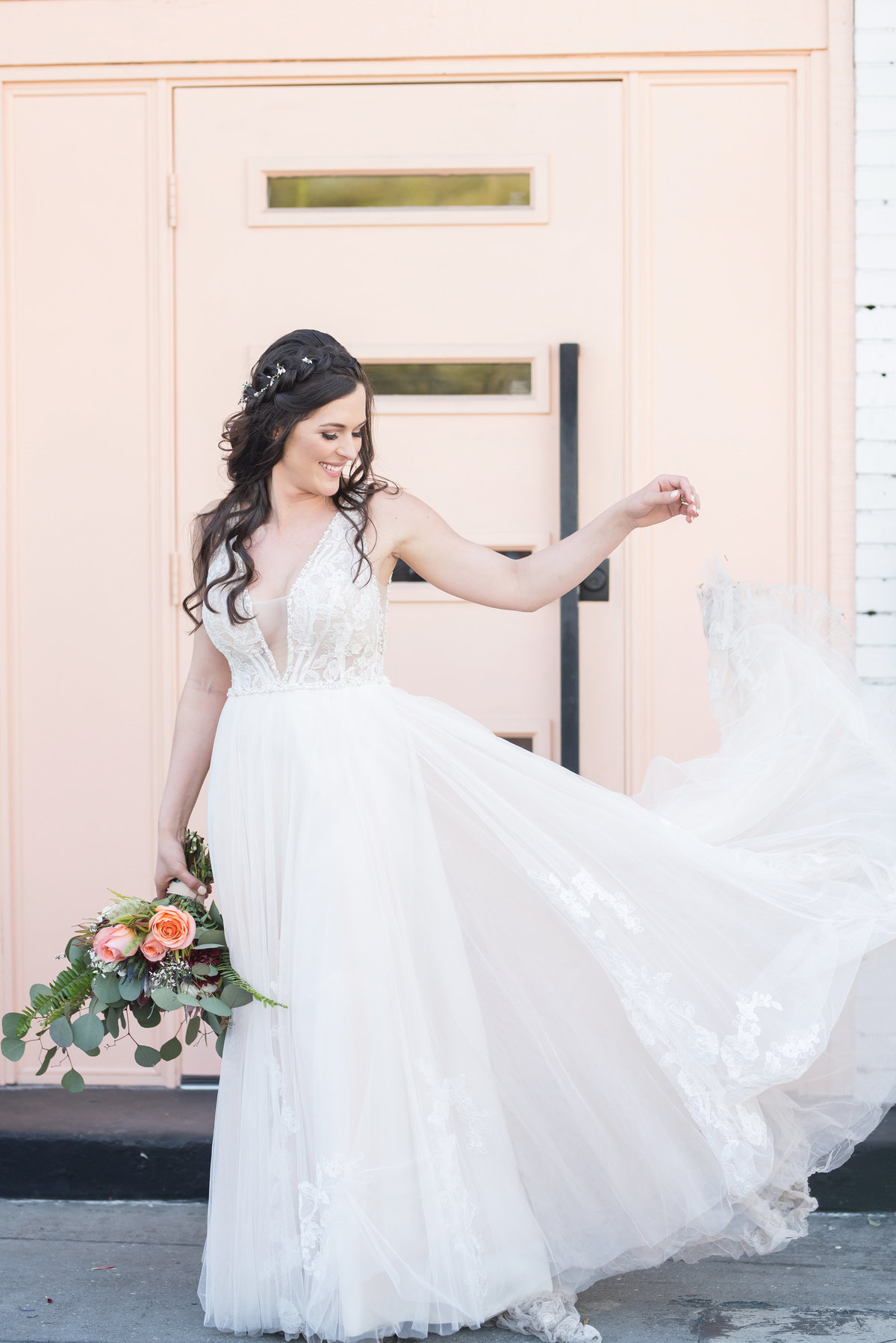 Tampa boho wedding at Fancy Free Nursery 35