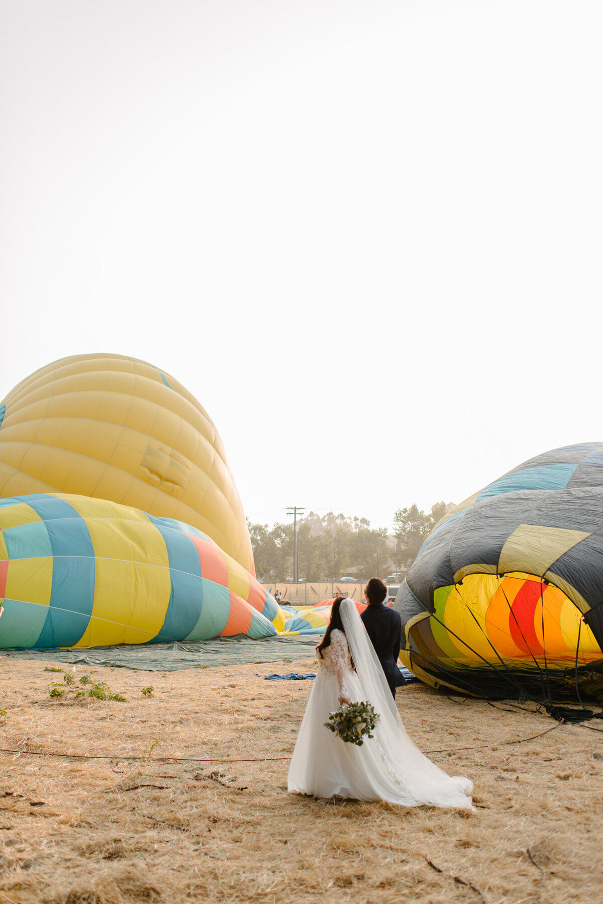 Hot Air Balloon Elopement Marie Monforte Photography-111
