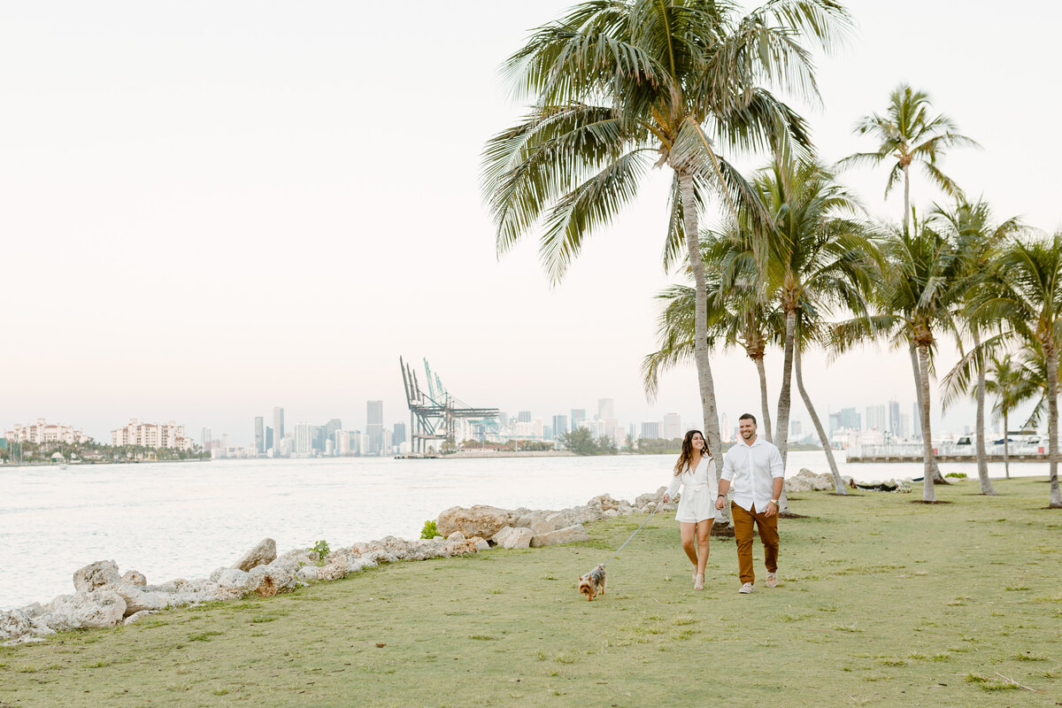South Pointe Park Engagement Photography Session 2